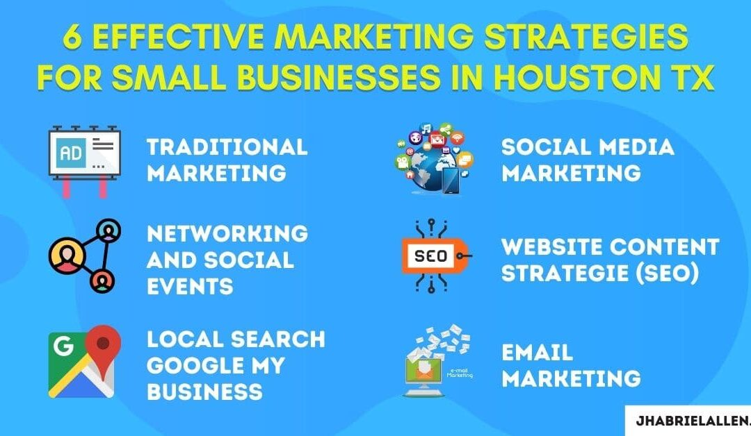 small business marketing strategies Houston tx